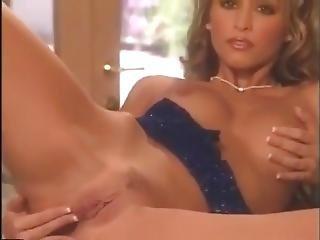 Blondynka, Masturbacja, Gwiazda Porno, Małe Cycki, Klasyczny