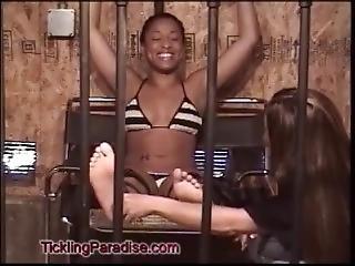 fetisch, lesbisch, gefängnis