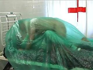 Latex Nurse Breathplay Plastic Fucking