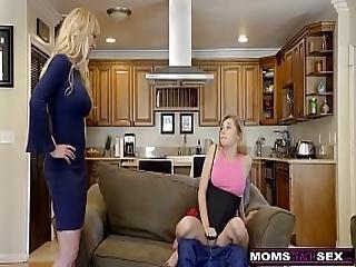 Momsteachsex - Bigtit Aunt Brandi Love Helps Teens Fuck S8 E8