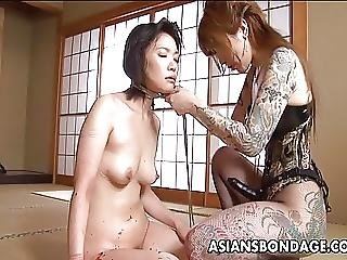 Amateur, Asian, Babe, Bondage, Fucking, Japanese, Strapon, Tattoo