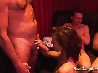 German Groupsex Bukkake Orgy