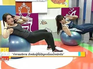 Thai Cutie Fitness Instructor Workout 03