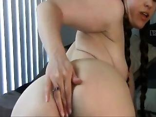 Princess Leia (clips4sale) Anal Creampie
