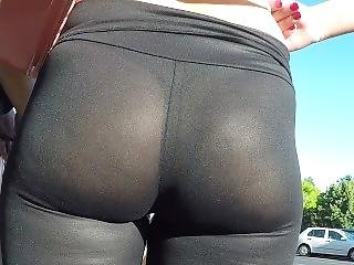 See Thru Milf Leggings