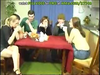 Young Russian Teen Swingers Party