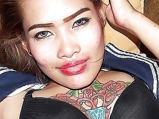Azjatka, Tatuaż, Nastolatki, Tajka