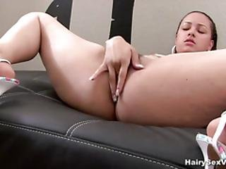 Fingering And Using Her Toy In Masturbation