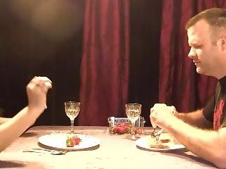 Blind Date Goes South Fast For Poor Guy; Cruel Brunette Spits In His Face
