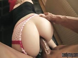 Blond Wife Get Her Ass Fucked Hard By Bbc