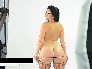 anal, røv, stor røv, dobbel penetration, slik, penetration, fisse, fisse slikning, små bryster, alene, trekant