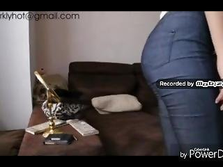 Girl Farts On Sofa