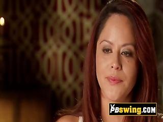 Swinger Ladies Connect Sexually With Each Other In An Open Swing House New Episodes Available Now Visit The Page For Full Scenes