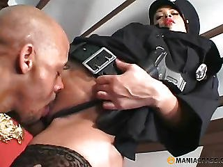 In Heifers With A Gun Licking Vagina
