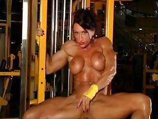 Gym, Nude, Posing