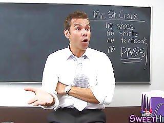 Classroom Teen Creampied