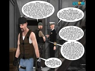 3d Comic The Eyeland Project 26. The Perfect Storm. Part 2