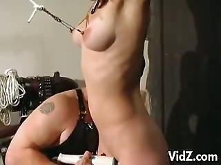 Bondage Lesbos Was Made To Female Ejaculation