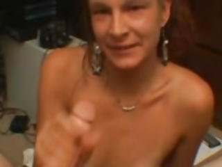 Drunk And Stupid Mom Strokes A Big Dick