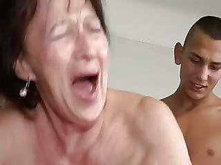 Granny Loves Young Boys Balls And Ass