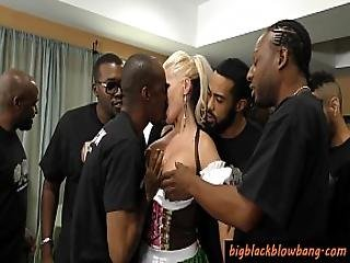 Negro, Blowjob, Cum, Pene, Facial, Gangbang, Interracial, Puta, Puta