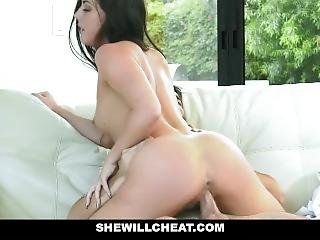Shewillcheat - Slutty Unhappy Wife Whitney Wright Fucks Audio Repair Man
