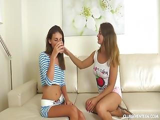 Cute Teens Love Licking Each Other