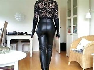 Sissy Sexy Tight Leather