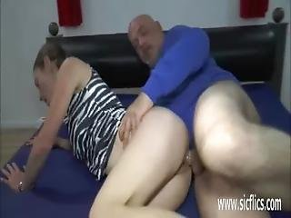 Skinny Teen Double Fisted And Fucked In Her Snatch