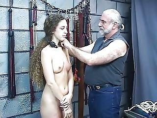 Bdsm, Bound, Brunette, Gagged, Spanking, Teen, Whip, Young