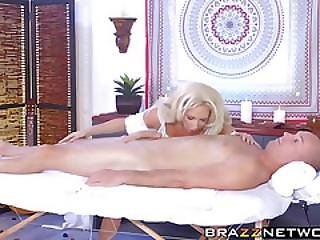 Big Tits Blonde Milf Riding And Getting Hard Anal Sex