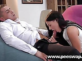 Doroty Fucked On A Piss Covered Floor