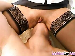 Lesbian Sluts Carol And Misty Fisting Licking Pussy