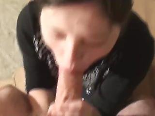 Teen Swallows Sperm
