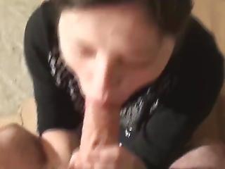 Blowjob, Russik, Sperm, Sluger, Teen