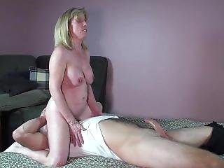 Milf Sucks And Fucks A Young Nervous Pornhub Member