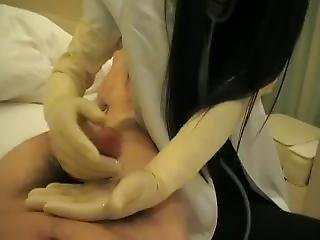 Asian Doctor Latex Gloves