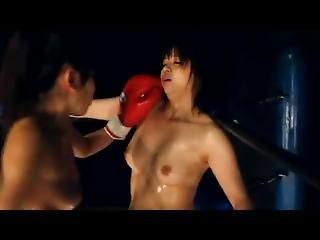 Moe Vs Rin Knockout Scene