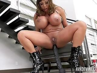 asiatica, tette grandi, masturbazione, milf, pornostar, da sola, giocattoli