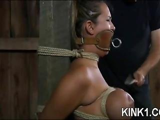 Trina Michaels Throat Gag Bondage