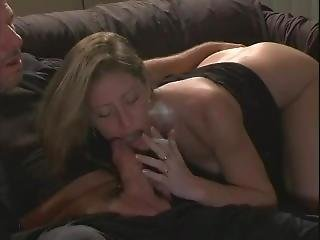 Liza Smoking