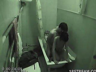 Boy Fuck Gal Standing In A Bathtub