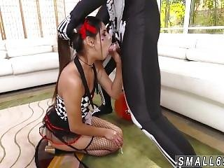 Britney Amber Big Cock Bitty Bopper Gets A Scare