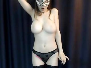 Webcam - Short Clip Of A Beautiful Busty Young Teen #2