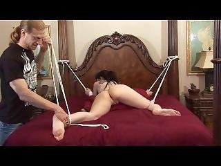 Solving Financial Troubles With Anal Bondage Sex! Part2