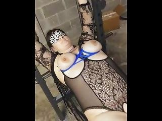 Fucking My Chained Up Slave In The Basement
