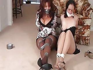 Mom And Amp Not Her Daughter Bound And Gagged