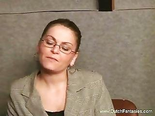 Ugly glasses milf fucked