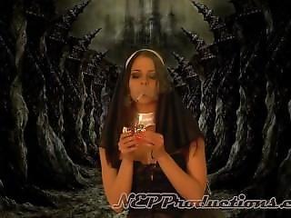 Smoking Nun Model Babe