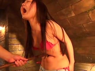 Sexy Asian Belly Torture